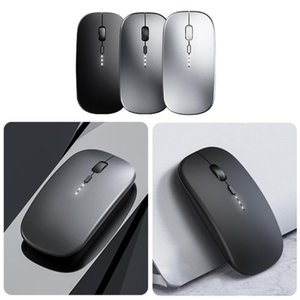 Mice LED Wireless Mouse Rechargeable Slim Silent 2.4G Portable 1600DPI For Notebook PC Laptop Computer Desktop