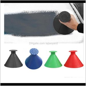 Housekeeping Magic Window Windshield Car Ice Scraper Cone Shaped Funnel Snow Remover Tool 4 Colors Zza1099 5 Sahz5 Outdoor Gadgets Pjpo8
