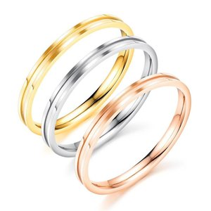 Cluster Rings Pretty Rose Gold Finger For Women Fashion Wedding Ladies Ring Silver Color Luxury Jewelry