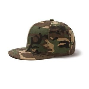 2021 flat edge hat manufacturer Custom Hip Hop baseball cap children's solid color DIY Custom Hip Hop hat men's and women's sunshade