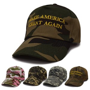 KEEP AMERICA GREAT Camouflage Baseball Cap Embroidery Trump 2020 Hats Men Women Unisex Fashion Sport Camo Army Snapback Hat BH1917 TQQ