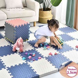 Baby Foam Clawling Mats 2.5CM EVA Puzzle Toys for Children Kids Soft Floor Play Mat Interlocking Exercise Tiles Gym Game Carpet 210401