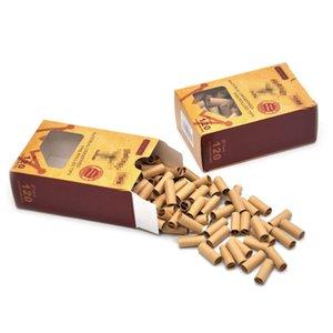 """120 шт. / Коробка одноразовый табачный сигаретный фильтр наконечник предварительно рулона для курения сигареты фильтры держатель 18 * 7 мм Рулонные бумажные наконечники """"подсказки прокатки дыма"""