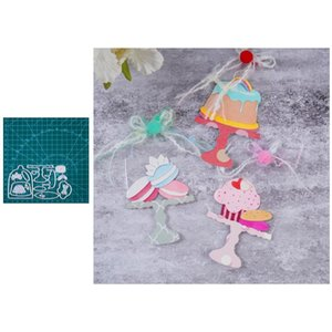 Painting Supplies InLoveArts Sweet Cake Stand Metal Cutting Dies Dessert Stencils For DIY Scrapbooking Decorative Embossing Paper Cards Craf