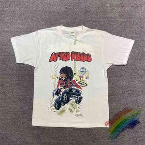 T-shirt da uomo The Weeknd After Hours Readymade T-Shirt Uomo Donna Qualità T Shirt Moda Casual Top Tee GWQ3