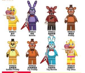 8pcs set 4.5cm Boys Assembled Building Blocks Minifigure Bags ABS Environmental Plastic WM607Boy Toys Gifts