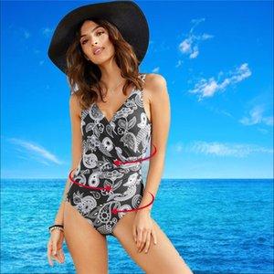 DOT Große Größe Frauen Badebekleidung Push Up Plus Size Badeanzug Bummach Control Schwimmen Anzug Heißer Sommer Strand Tragen Weibliche Monokini 5xl 923 Z2
