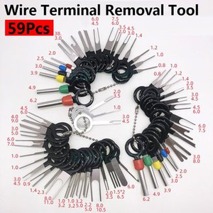 Automotive Repair Kits 59PCS Car Wire Terminal Removal Tool Kit Electrical Wiring Crimp Connector Pin