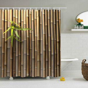 Curtain & Drapes Creative Digital Printing Shower European Style Custom Size Bathroom Partition Customization