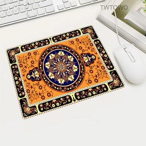 Mouse Pads & Wrist Rests Russia Japan Small Size Persian Carpet Pattern Pad Home Office Computer Player Game Notebook MousePad