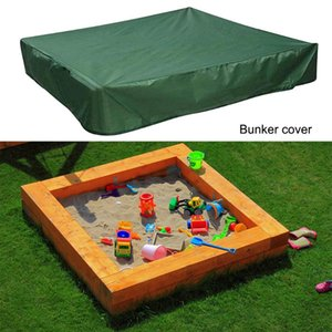 Square Garden Sandbox Dust Cover Waterproof Oxford Cloth Shelter Canopy Children Toy Sandpit Pool Dustproof Covers Outdoor Pads