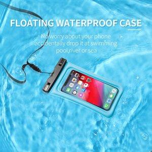 Copozz 해변 방수 전화 케이스 커버 터치 스크린 떠있는 Aribag 드라이 다이빙 가방 파우치 아이폰 Xiaomi Samsung Meizu Jllrph Dhzlstore