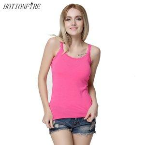 Women Sexy Lace Show Thin Drawstring Single Yard Round-neck T-shirt Top Vest Streetwear Shoulder Pink Undearwear Camisole