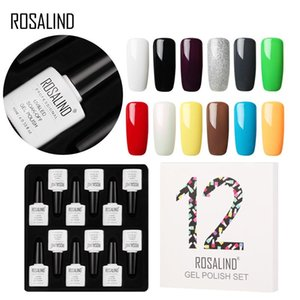 Solid Color Nail Polish Glue Set 12 Pcs Of 10ml
