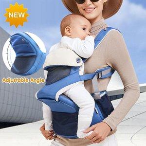 Carriers, Slings & Backpacks 2021 Design Adjustable Angle Infant Sling Multifunctional Baby Carrier Lightweight Waist Stool Wrap Kangaroos H