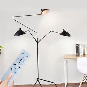 Floor Lamps Designer Tripod Lamp Nordic Adjustable Spider Arm Stand Light Loft Industrial Living Room Bedroom Decor Indoor Lighting