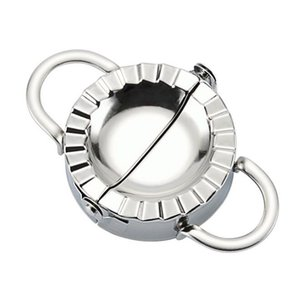 stainless steel dumpling machine Tools and cutting blade dough for home kitchen doughs round roller machines dumplings skin mold