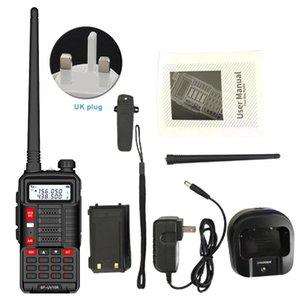 Walkie Talkie Telecommunications Outdoor USB Charging Dual Band Two Way Station Hunting Camping Radio 16W Portable VHF UHF