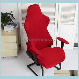 Chaise couvre des textiles de textiles à domicile Jardin amovible Spandex Polyester Décoration de bureau Soft Fauteuils élastiques de jeu protecteur de jeu WASHA