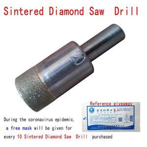 Профессиональные буровые биты 1 шт. Спеченная алмазная пила ядра битовый инструмент, 10 мм хвостовик, диаметр диаметром 5-20 мм Фарфоровая плитка из стекловолокна, керамическая