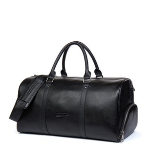 Travel Crossbody Large Overnight Men Leather Bags Duffel Weekend Bag Bags Genuine Travel Rmupx Hcmae 10