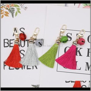 And Crafts 2Pcs Style Mini Bell Chain Tassel Diy Garments Bag Decor Supplies Jewelry Key Ring Phone Case Car Pendants Arts H Sqcvuk Ye Ztng7