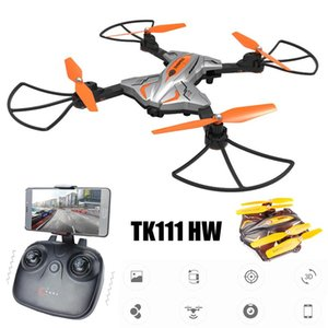 Wifi FPV 720P HD Camera Foldable RC Quadcopter Drone W  Flight Plan Route App Control & Altitude Hold Function RTF Drones