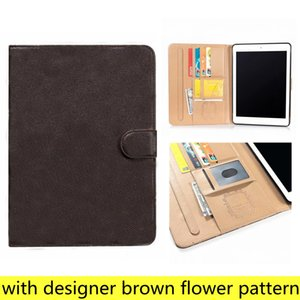 Para iPad Pro11 12.9 Casos de PC de alta qualidade ipad10.9 Air10.5 Air1 2 Mini45 iPad10.2 Ipad56 Designer L Moda Couro Titular Bolso Capa