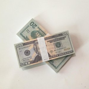 Flaunting riqueza pulverizando dinheiro brinquedos dólar no banco 5 10 20 50 100 dólar notas de dólar dinheiro falso dinheiro dinheiro de vários denominações presente
