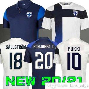 2020 2021 فريق فنلندا الوطني رجل كرة قدم الفانيلة Pukki Skrabb Raitala Pohjanpalo Kamara Sallstrom Jensen Lod الصفحة الرئيسية قميص كرة القدم