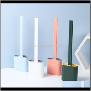 Brushes Holders Set Long Handle Soft With Holder Thoroughly Clean Any Corner Lightweight Durable Toilet Brush Bathroom Ayjqi Hjnsv