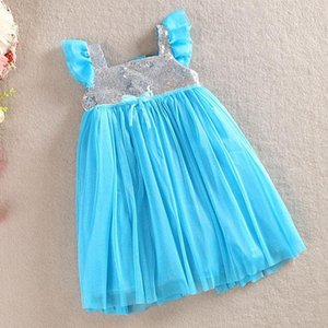 Girl's Dresses Kids Sling Princess Birthday Dress Toddler Sleeveless Christmas For Party & Wedding Baby Lace Costume Girls 0-6Y