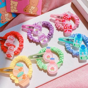 Baby Hair Accessories Girl Tie Hairbands Bands Things Childrens BB Clips Cartoon Kids Barrettes Fashion Scrunchies B4883