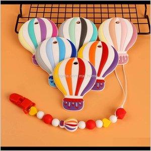 Früchte Zähker Kovikt 510 stücke Luftballon Sile Beißring Nagetiere Zahnen Toys Kaubare Tierform Baby Produkte Pflege Geschenk 210311 xkoqt