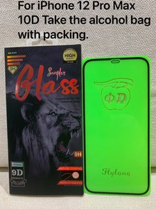 10d cover tempered glass full glue 10h screen protector film for iphone 13 12 11 pro max xs xr galaxy