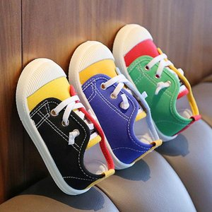 Children Canvas Shoes For Girls And Boys 3-8 Years Old Casual Soft Sole Baby Single Kindergarten Boy Comfortable Athletic & Outdoor