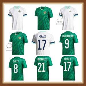 2021 Северная Ирландия Национальный футбол Футбол Главная Синий Футбол Джерси 21 5 Evans 10 Рубашка Lafferty 8 Дэвис Униформа