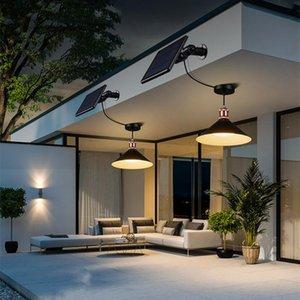 Solar Lamps Garden Led Lights Outdoor Waterproof Gardening Household Indoor Chandelier Balcony Light Super Bright Pavilion