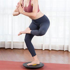 36 cm PP Plastik Yoga Denge Kurulu Disk Stabilite Yuvarlak Plakalar Fitness Sporları için Egzersiz Eğitmeni Trainer Washgling