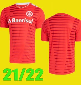 Camisa 2021 2021 SC Internacional Soccer Jerseys Home Red Away White Patrick 21 22 Fernadão Camisetas R.Sobis d.alessandro كرة القدم القمصان