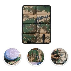 Outdoor Pads 4Pcs Waterproof Folding Cushion Multi-Functional Seat Mat For Camping Hiking