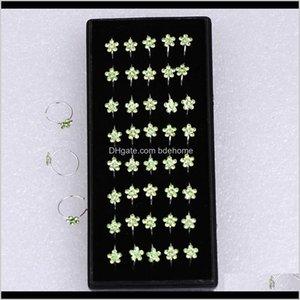 Rings Studs Unisex Plum Flor Rhinestone Stud Hoop Sparkly Nariz Anillo Body Piercing B0XDI YXOJQ