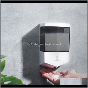Bath Home Garden Drop Delivery 2021 Wall Mounted Liquid Touchless Matic Soap 600Ml Sensor Dispenser Bathroom Accessories Cca12262 Uip0C