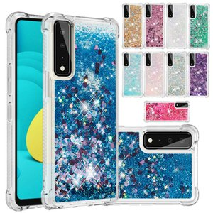 Liquid quicksand Phone Cases for LG Stylo7 Stylo4 Stylo5 Aristo2 K51 K31 K40 K12 PLUS K8 K10 V20 Stylus3 LS777 G7 ThinQ Beautiful Bling Glitter cellphone cover