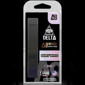 Дозировка 1000 мг заполнена D8 Vape Cartridge 1ML Mr Delta Brand от Miami