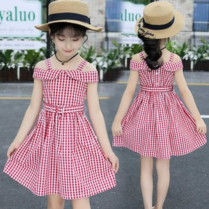 Girls Dresses Summer 2021 New Fashion Elegant Girls Casual Dress 2 Children's Clothing 3 Clothes for Teenagers 10 To 12 Year Old