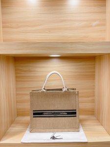 Canvas Shopping Bag Letter Plain Bags Fashion Lady Satchel
