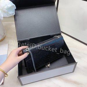 2021 SS Luxurys Designers Lady Fashion Chain Cross Body Bags Plain Alligator Square Shoulder Casual Crocodile Famous Interior Zipper Pocket Women Popular Handbags