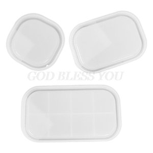 Craft Tools Oval Tray Epoxy Resin Mold Dish Plate Serving Board Casting Silicone Mould DIY Crafts Jewelry Holder Making Tool Drop