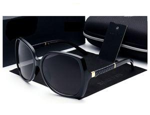 Top Quality Marcas de Luxo Designer Sunglasses Mulheres Retro Vintage Proteção Feminino Moda Sol Óculos Grande Quadro Eyewear Vision Cuidados 6 Cor